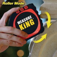 Measure King 3-In-1 Digital Tape Measure String Mode Precise Roller Mode Unive