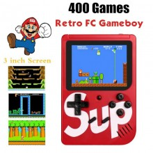 Sup Game Box Game Console 3 Inch 400 Games Retro FC Game Player Classic Game