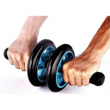 Heavy Duty Double Wheel AB Roller Fitness Gym Equipment Free Knee Mat No Ratings Yet