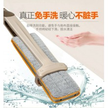 2017 Double Sided Hands Free Wash Self-Wringing Microfiber Lazy Flat Floor Mop Multifunction 360 Degree Swivel