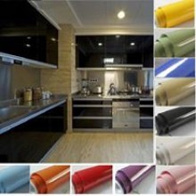 Kitchen Cabinet Furniture Self Adhesive Vinyl Wallpaper Sticker Films