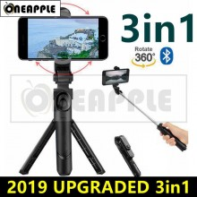[Hot Sales] 360 3 in 1 Bluetooth Selfie Stick Monopod Tripod for IOS / Android