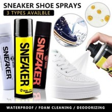 (300ml x 3 in 1 Set) SNEAKER鞋子保养喷雾剂清洁防水除臭 Top-Care Shoe Cleaner Refresher Protector Waterproof Spray