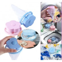 Flower Type Washing Machine Float Filter Bag Filter Hair Remover Cleaning Decontamination Laundry Jerseys Wash Ball