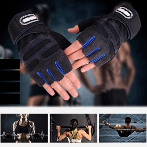 Premium Gym Grade Weight Lifting Gloves Crossfit Training Bodybuilding Fitness Exercise Drive Air Sports Gloves