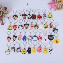 READY STOCKPeace X KeyChain Key Ring Cartoon Keychain Kefob portable Party Key Chain Free Gift BABY S041