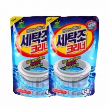 Korea Sandokkaebi Washing Machine Cleaner powder (450g) 2packs
