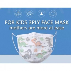 [50 Helai] Kids Disposable Facemask Dinosour Design / Penutup Muka Kanak2 Dinosour Design / Face Mask Budak / Baby mask