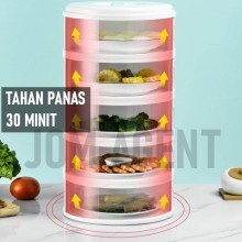 Sliding Door Food Cover  Home Kitchen Transparent Stackable Food Insulation Dish Cover Dustproof