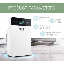 (MALASIA WARRANTY) TERA Air Purifier PM2.5 Household Smoke and Dust Removal Cleaner Sterilizer with HEPA Filter