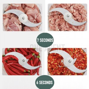 Meat Blender Spare Replacement Blade Knife
