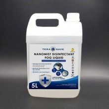 Nanomist Fog Liquid Fogging Disinfection Liquid 5 LITRE non alcohol