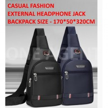 Sling Bag Men Chest Bag Outdoor Travel Korean Canvas Men Bag Multifunctional Cross Body Bags BM001