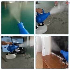 4.5L Disinfectant Machine 1400W Electric Portable Fogging Sprayer ULV Fogger Ultra Low Capacity Electric Spray