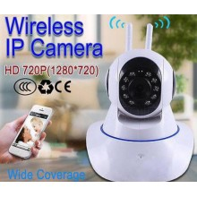 720P CCTV IP 2 Way Audio Wireless Internet Wifi Night Version