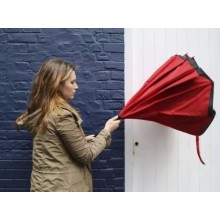 Innovative Double Layer Reverse Inverted Umbrella(Red)