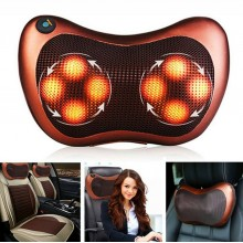 8 ROLLERS Car & Home Massager Massage Pillow Light Cushion